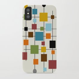 Mid-Century Modern Art 1.3 iPhone Case
