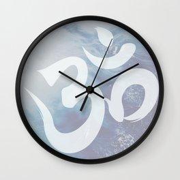 OM: Spirit of Serenity Wall Clock