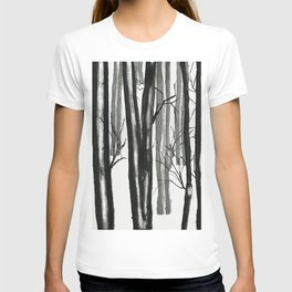 wood and snow T-shirt