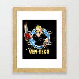 Join Ven-Tech Framed Art Print