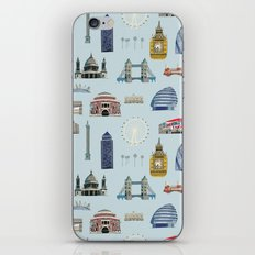 All of London's Landmarks  iPhone & iPod Skin