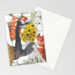 Fonda Flower Collage Stationery Cards
