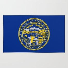 flag Nebraska,america,usa,cornhusker,nebraskan, great plains,midwest,Omaha,Lincoln,Kearney Rug