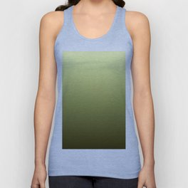 Yellow Olive Green Backgrund Unisex Tank Top