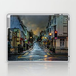 Wet Morning In Kemp Town Laptop & iPad Skin
