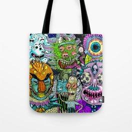Crazy Friends Tote Bag