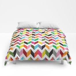 Ziggy chevron Comforters