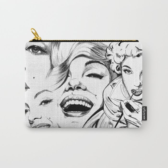 Marilyn Munroe Collage Carry-All Pouch