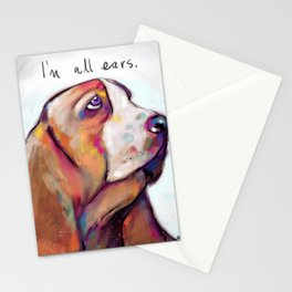 I'm all ears Stationery Cards