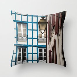 Basque architecture Throw Pillow