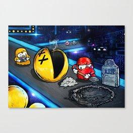 Pacman - Dead Heroes Canvas Print