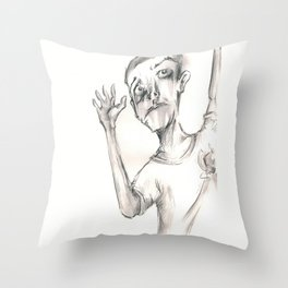 Heads Up Chins Up  Throw Pillow