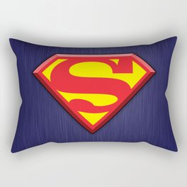 Super Hero Super Man Rectangular Pillow