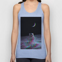 COLORFUL MOONS Unisex Tank Top