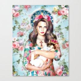 Virgin Lana  Canvas Print