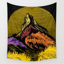 The Acid Peak of Tempests Wall Tapestry