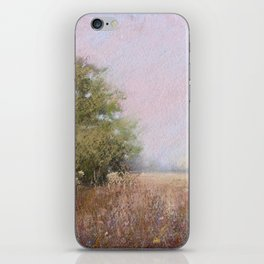 Quiet Afternoon Soft Pastel Landscape Painting iPhone Skin