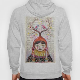 Birds and thoughts and love and magic Hoody