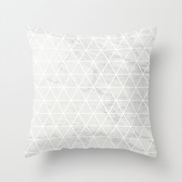 TriangUlina Throw Pillow