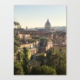 Roman Rooftops Canvas Print