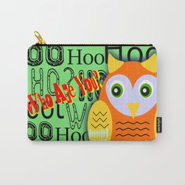 Hoo Are You? Carry-All Pouch