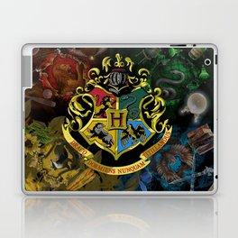 Hogwarts Logo Houses Laptop & iPad Skin