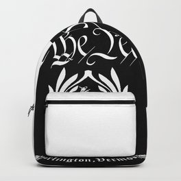 WE THE PEOPLE TATTOO PARLOR Backpack