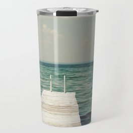 Mint Lake Escape  Travel Mug