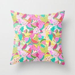 La Sandia Throw Pillow
