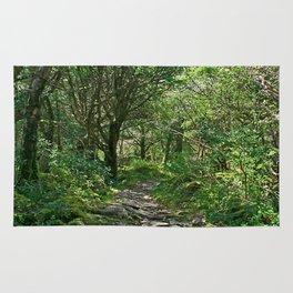 Killarney National Park, Ireland Hiking Path Rug