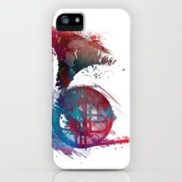 French horn #frenchhorn #music #art iPhone Case