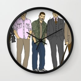 Shoot it, kill it, hack it, sue it, cure it. Wall Clock