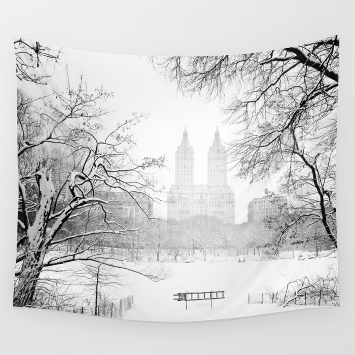 241 Central Park West: New York City Wall Tapestry By