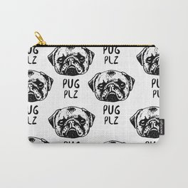 Pug Plz Carry-All Pouch