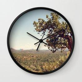 Sedona Skies II Wall Clock