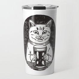 Thirsty Cat Travel Mug
