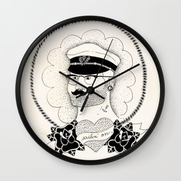 Sailin' on Wall Clock
