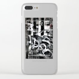 Gritty Philly Clear iPhone Case