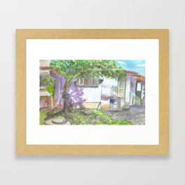 Colonial House 2 Framed Art Print