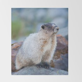 The Marmot Throw Blanket