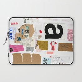 Paper Trail I  Laptop Sleeve
