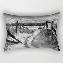 Beach Path Rectangular Pillow