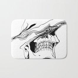 Skull #2 (Liquify) Bath Mat