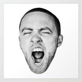 Mac Miller GO : OD AM Art Print