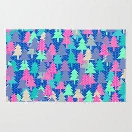 Colorful fir pattern II Rug