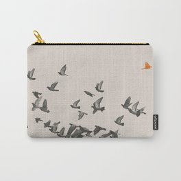 Bird and Birds Carry-All Pouch