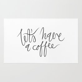 Coffee maniac. Rug