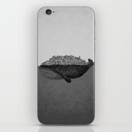 Whale City iPhone Skin