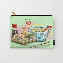 Sushi and Miso Carry-All Pouch