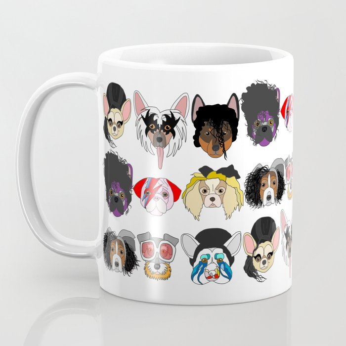Pop Dogs Coffee Mug